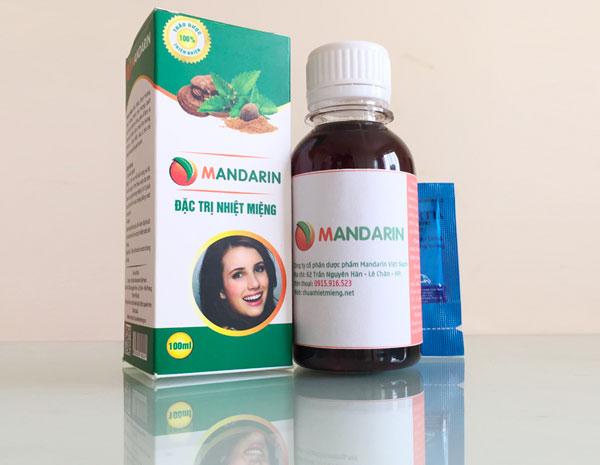 Review thuốc nhiệt miệng mandarin từ a đến z