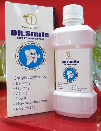 Review nước súc miệng Dr Smile có tốt không và có giá bao nhiêu?