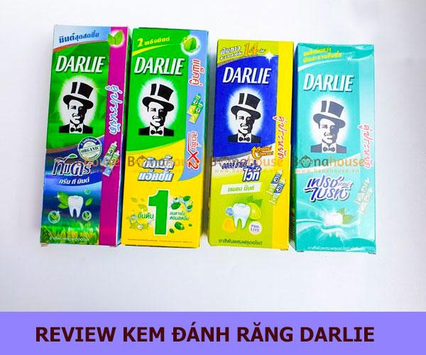 Review Kem đánh răng Darlie có tốt không? Giá từng loại là bao nhiêu?