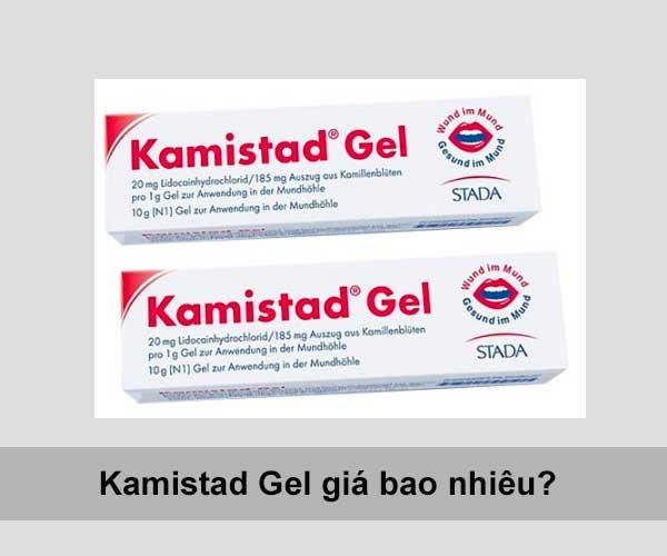 Thuốc Kamistad Gel N giá bao nhiêu, thuốc Kamistad có nuốt được không?