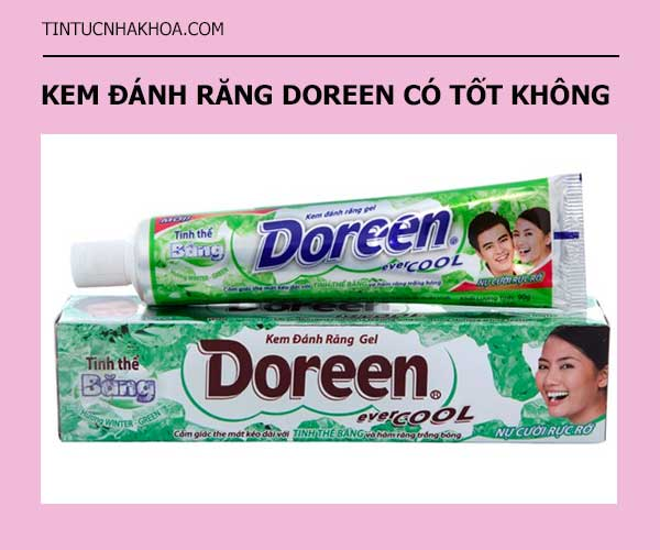 HOT 2020 | Review kem đánh răng Doreen có tốt không?