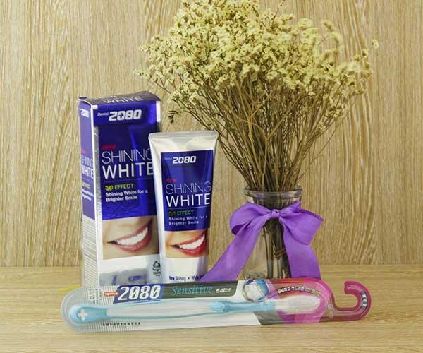 HOT 2020 | Review kem đánh răng 2080 shining white có tốt không?