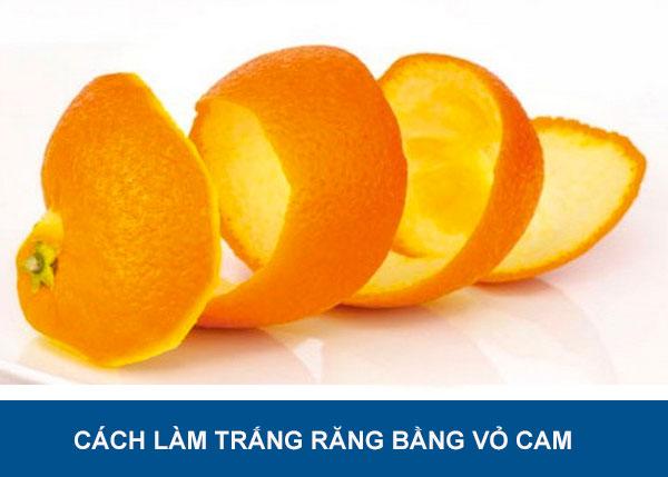 Hướng dẫn cách làm trắng răng bằng vỏ cam đơn giản mà hiệu quả